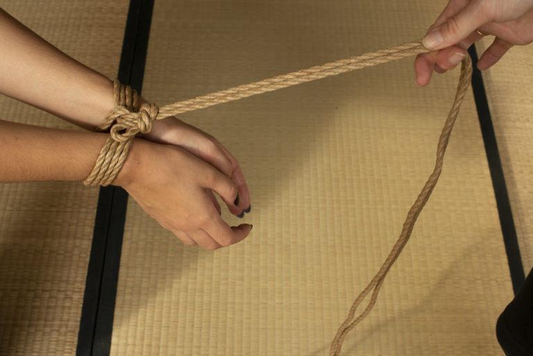 Tutoriel Shibari vidéo : double column tie